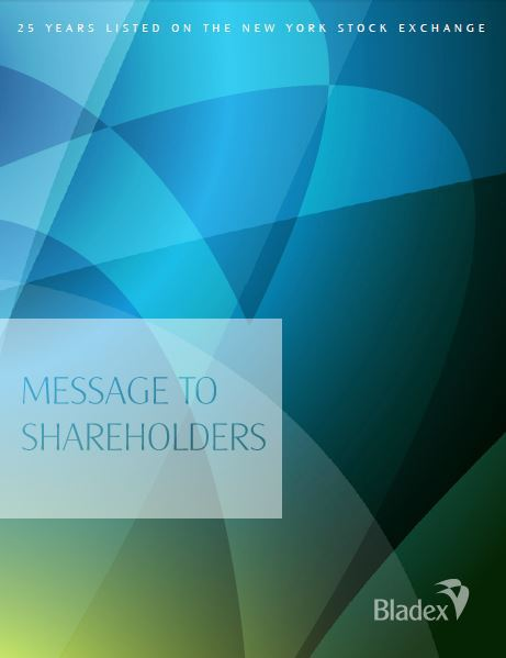 message to shareholders